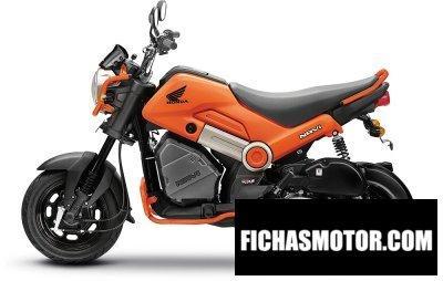 Imagen moto Honda navi año 2018