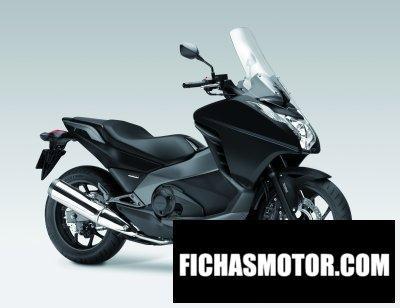 Ficha técnica Honda nc700d integra 2013