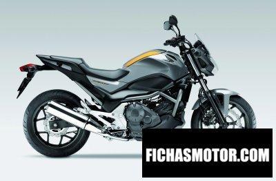 Ficha técnica Honda nc700s 2012