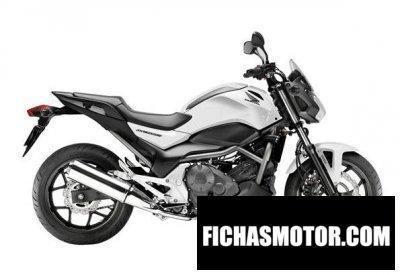 Ficha técnica Honda nc700sa 2013