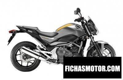 Ficha técnica Honda nc700sd 2013