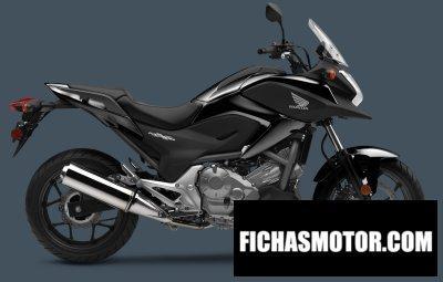 Imagen moto Honda nc700x año 2015