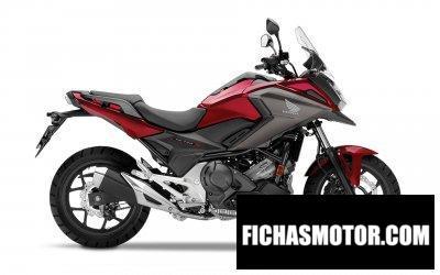 Ficha técnica Honda NC700X 2019