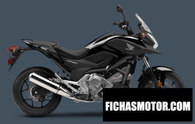 Ficha técnica Honda nc700x dct abs 2014