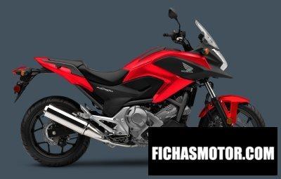 Ficha técnica Honda nc700x dct abs 2015
