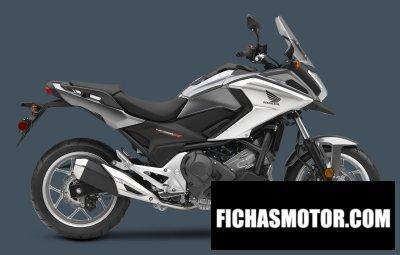 Ficha técnica Honda nc700x dct abs 2016