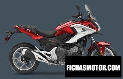 Ficha técnica Honda nc700x dct abs 2017