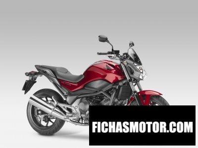 Ficha técnica Honda nc750s 2014