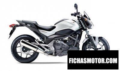 Imagen moto Honda nc750s año 2015