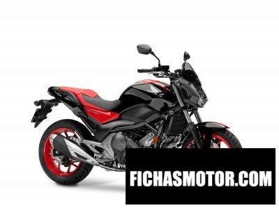 Ficha técnica Honda nc750s 2016