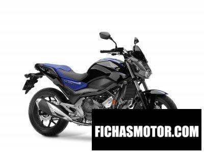 Ficha técnica Honda nc750s 2018