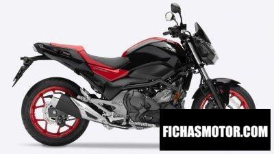 Ficha técnica Honda NC750S 2019