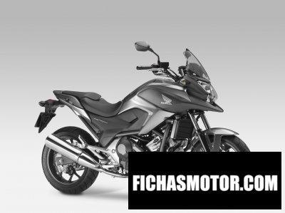 Ficha técnica Honda nc750x 2014