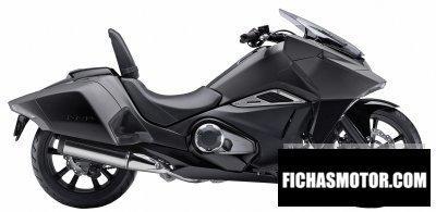 Imagen moto Honda nm4 año 2016
