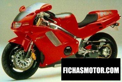 Imagen moto Honda nr 750 año 1992
