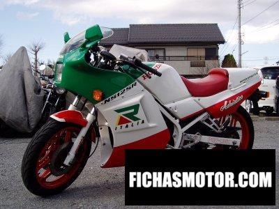 Ficha técnica Honda ns 125 r 1988