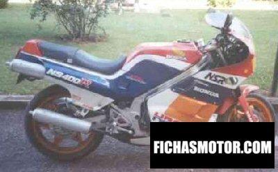 Ficha técnica Honda ns 400 r 1987