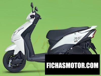 Imagen moto Honda nsc110 dio año 2014
