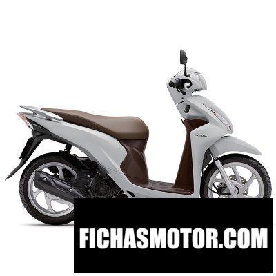 Imagen moto Honda nsc110 dio año 2018