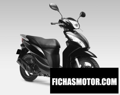 Ficha técnica Honda nsc110 vision 2013