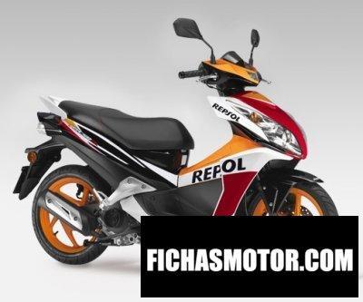 Imagen moto Honda nsc50r año 2015