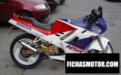 Imagen moto Honda nsr 125 año 1990