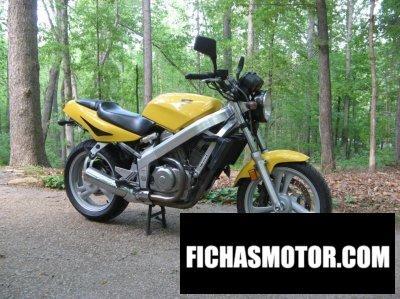 Imagen moto Honda nt 650 hawk gt año 1989