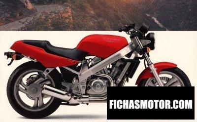 Ficha técnica Honda nt 650 hawk gt 1990