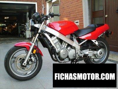 Imagen moto Honda nt 650 hawk gt año 1991