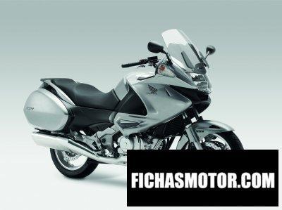 Ficha técnica Honda nt700v abs 2012