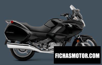Ficha técnica Honda nt700v abs 2013