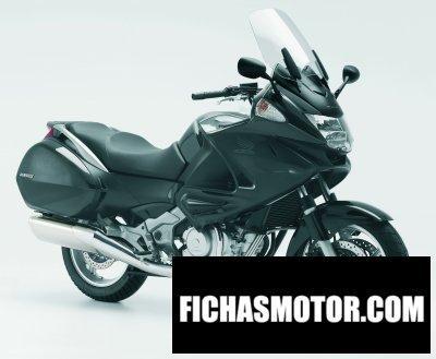 Ficha técnica Honda nt700v deauville 2008