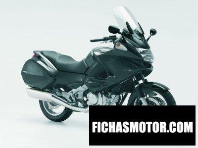 Ficha técnica Honda nt700v deauville 2009