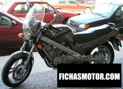 Imagen moto Honda ntv 650 revere año 1989