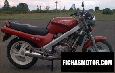 Ficha técnica Honda ntv 650 revere 1991