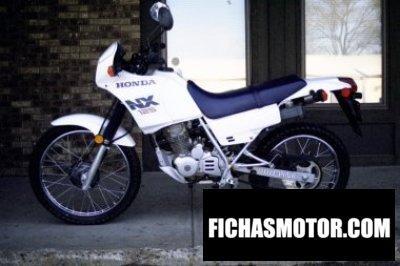 Imagen moto Honda nx 125 año 1988