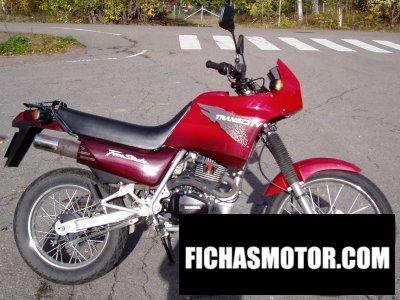 Imagen moto Honda nx 125 tc trans city año 1998