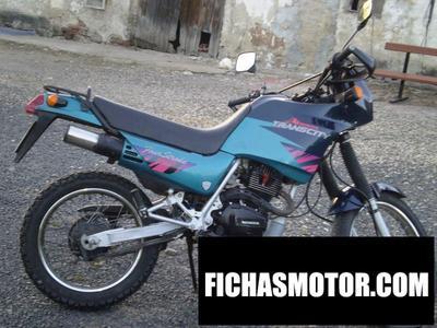Ficha técnica Honda nx 125 trans city 2000