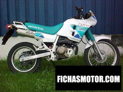 Ficha técnica Honda nx 250 1993