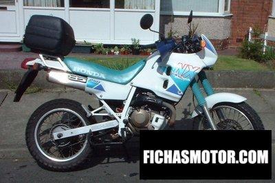 Ficha técnica Honda nx 250 1994
