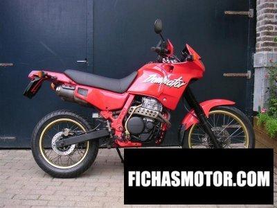 Imagen moto Honda nx 650 dominator año 1988