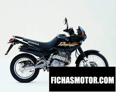 Ficha técnica Honda nx 650 dominator 2003