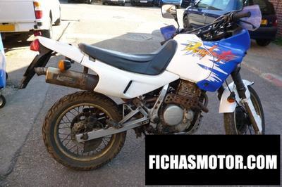 Ficha técnica Honda nx 650 dominator (reduced effect) 1991