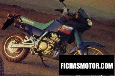 Ficha técnica Honda nx 650 dominator (reduced effect) 1992