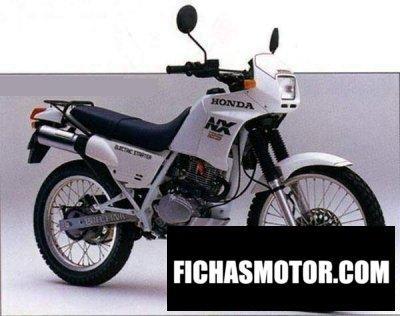 Imagen moto Honda nx trans city año 1997