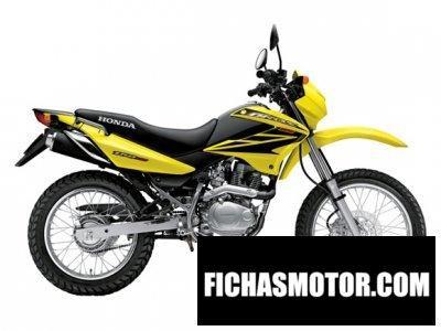Imagen moto Honda nxr bros año 2008