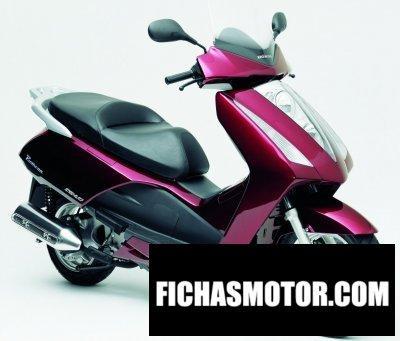 Imagen moto Honda pantheon año 2006
