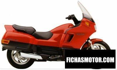 Imagen moto Honda pc 800 pacific coast año 1998