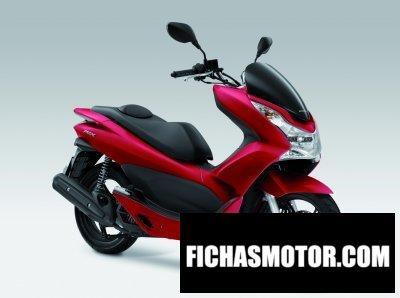 Ficha técnica Honda pcx 125 2012