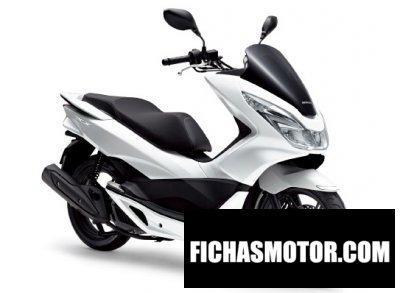 Ficha técnica Honda pcx (125) 2015